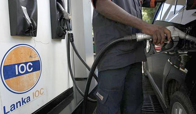 Lanka IOC increases 92 Octane petrol price