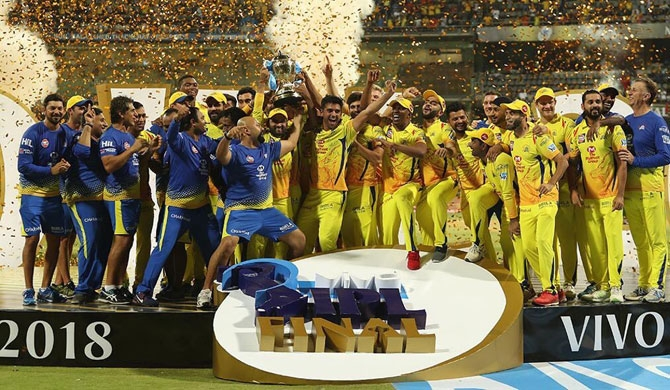 Watson ton leads Super Kings to 3rd IPL title
