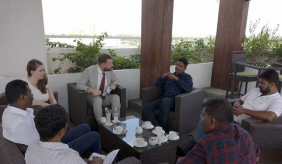 America in election talks with former LTTE members