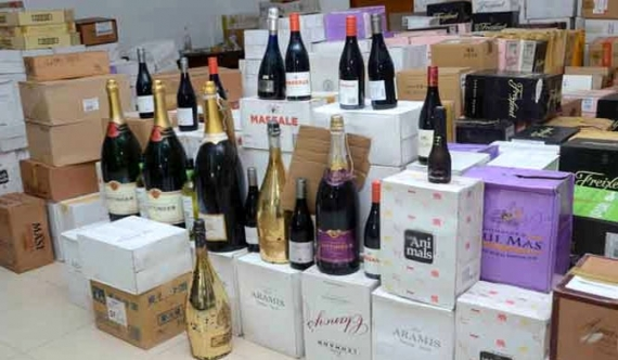 Man nabbed with 50 m worth wine, champagne
