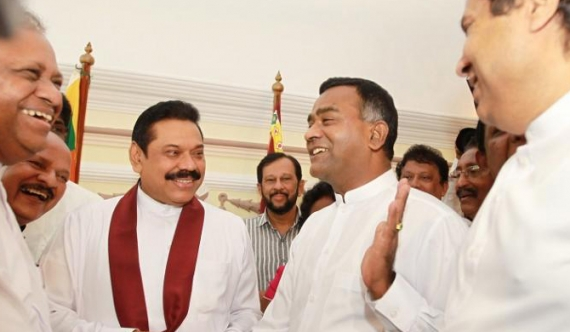Tissa is a political prisoner - Mahinda