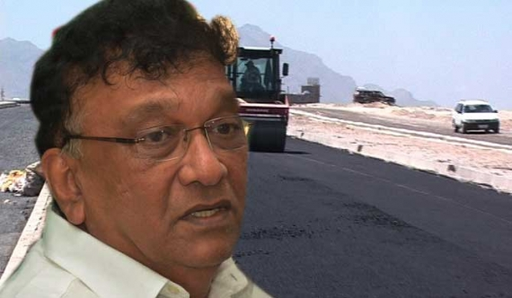 Irregular payment to road constructor placed on hold