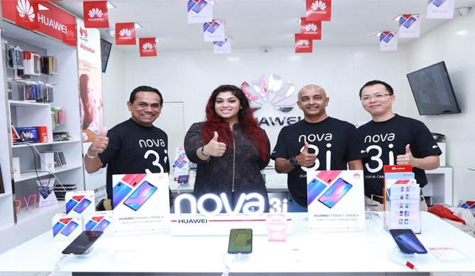 Huawei nova3 series gets record-breaking sales in first hour