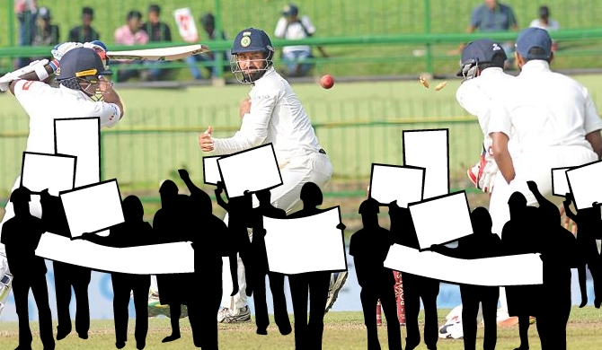 Ex-officials behind planned cricket protest!
