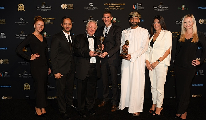 Oman Air recognized at World Travel Awards