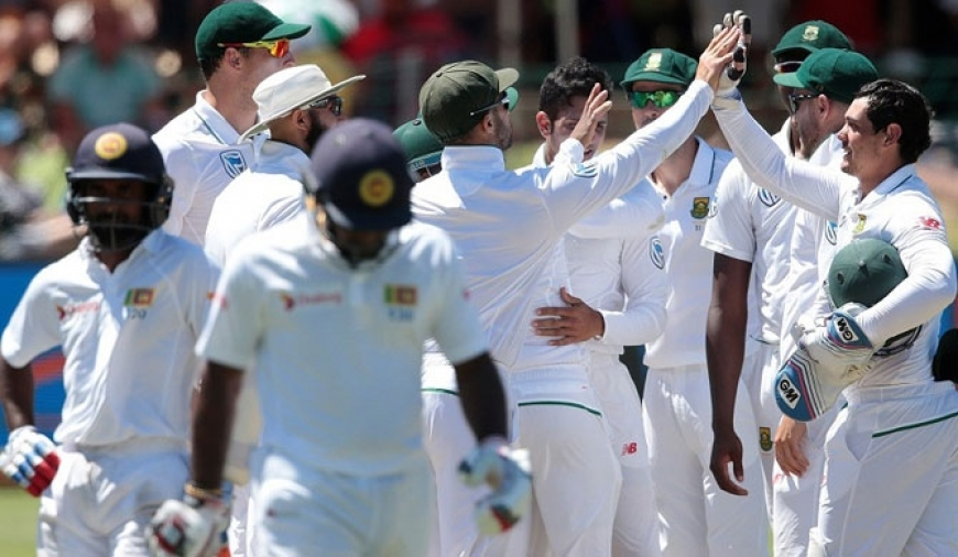 SA claims 206-run victory over SL