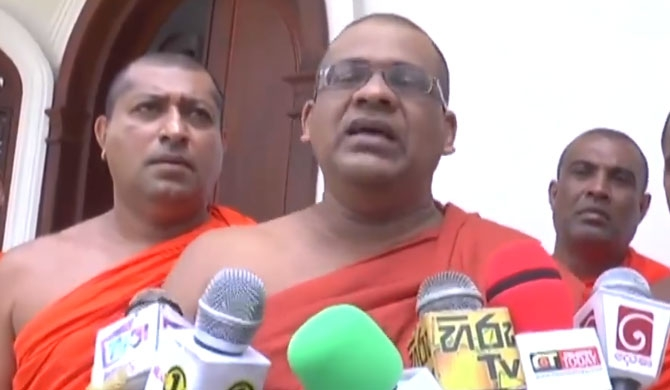 Law should applied equally in North & South - Gnanasara Thera (Video)
