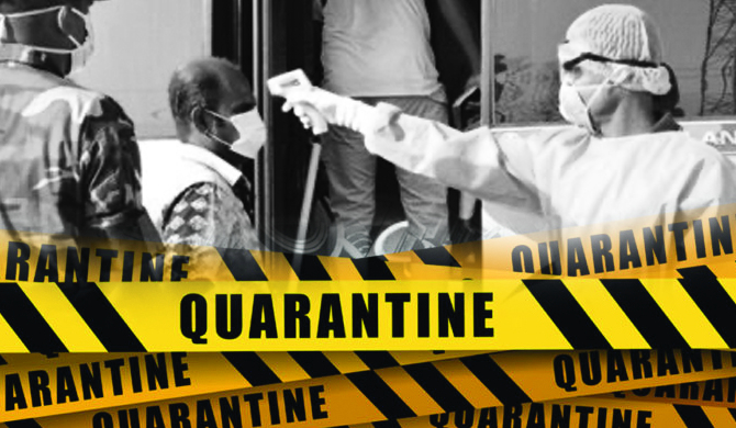 Around 40 in Kundasale, self-quarantined
