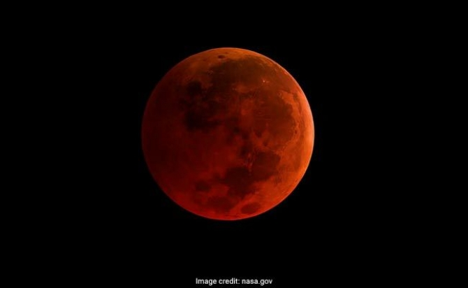 'Super Blue Blood Moon' to light up Wednesday skies after 152 yrs.