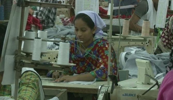 A study reveals 24 pc of B'desh's garment workers are foreigners
