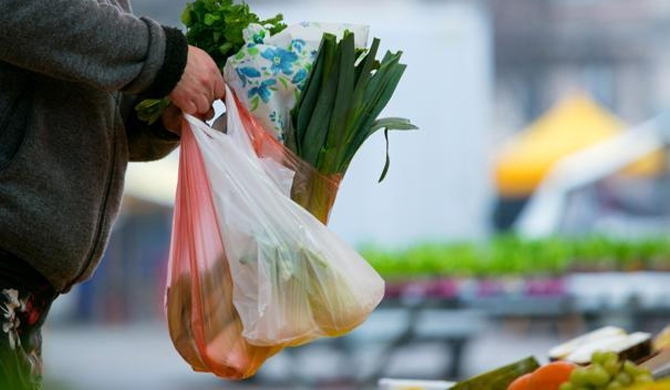 Relief for biodegradable polythene
