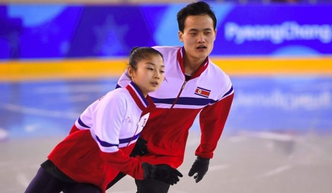 Ryom Tae-ok and Kim Ju-sik are the North's only top athletes at Pyeongchang