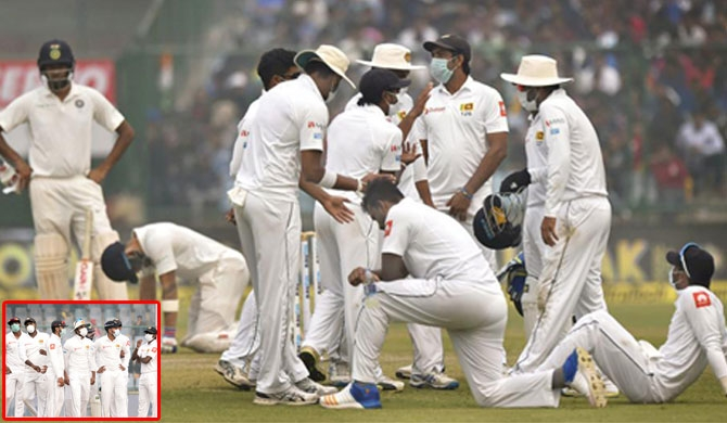 Sri Lanka complains to ICC on air pollution during Delhi Test