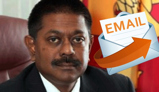 Email with Jaliya's financial irregularities information traced!