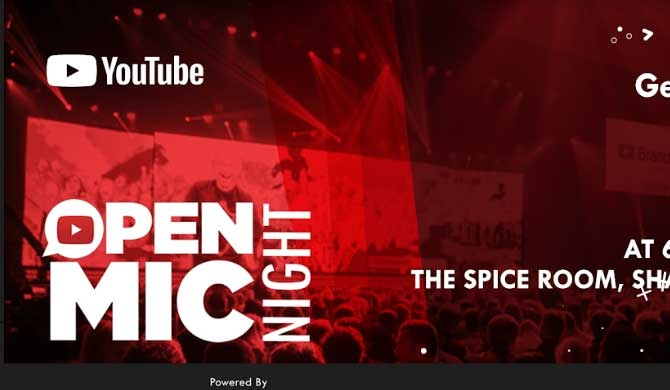 All set for Sri Lanka's first Youtube Open Mic Night