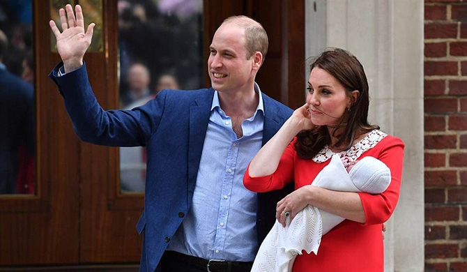 Son for William - Kate (Pics)