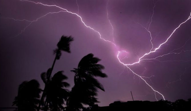 Lightning kills over 100 in India