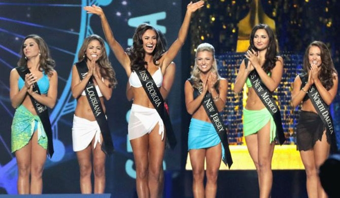 Miss America waves bye bye to bikinis