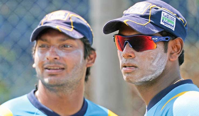 Sanga, Mathews bagged for PSL 3