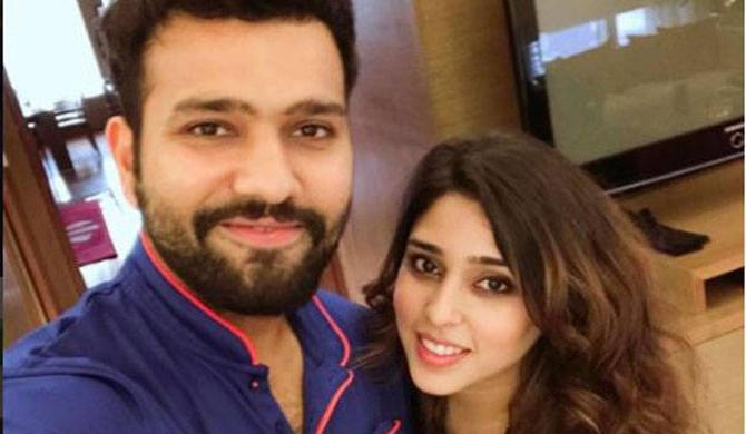 Rohit Sharma dedicates double ton to wife