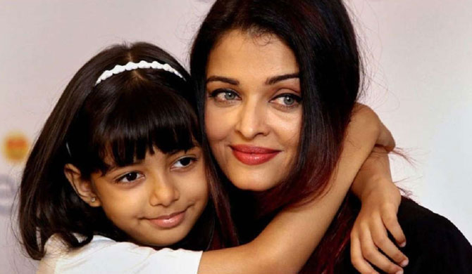 Aish & daughter hospitalised