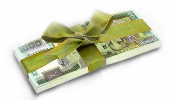 Minister distributes money to gather support for Ranil?