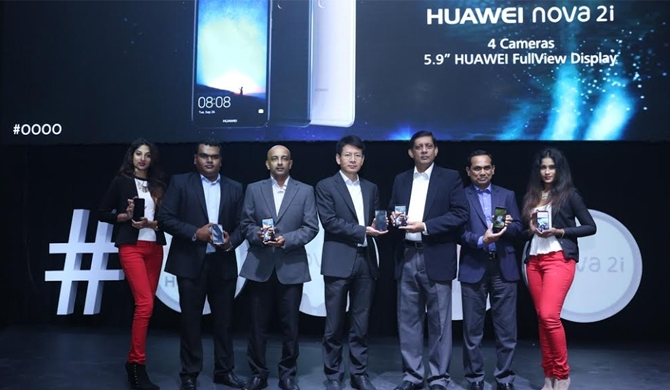 Huawei nova 2i launched in SL (Pics)