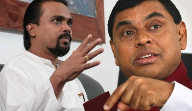 Basil-Wimal clash intensifies : Basil's speech distorted!