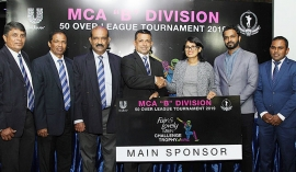 Fair & Lovely Men / MCA gear up for the 'B' Division 50 Over League Tourney