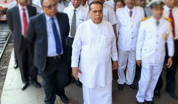 Disappointed, Siripala leaves the country!