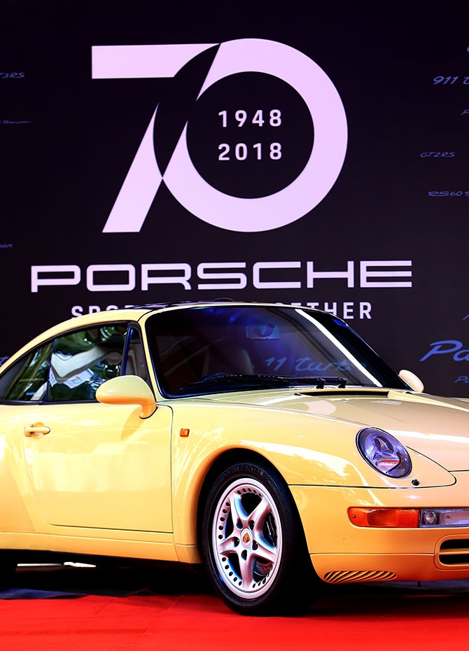 Porsche celebrates its 70th birthday in Sri Lanka (Pics)