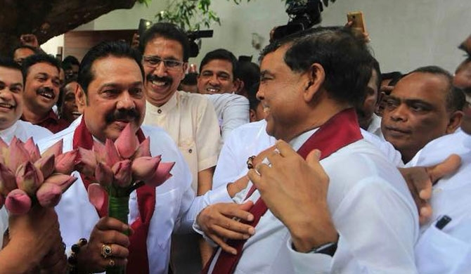 Mahinda told to name Basil as presidential candidate!