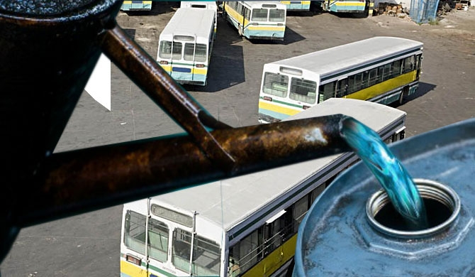 85 pc of private buses run on kerosene oil