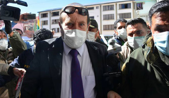 Bolivia arrests Health minister over costly ventilators