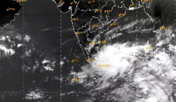 Cyclone to intensify over next 12 hrs