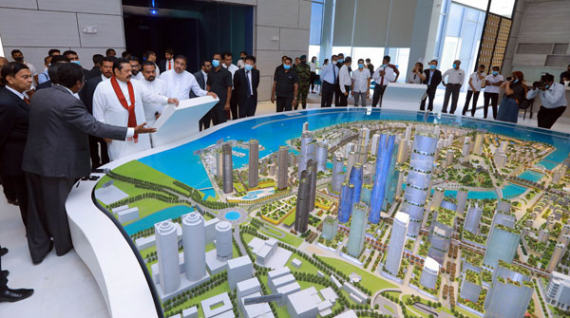 China lauds SL's backing for Colombo Port City