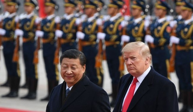 Trump - Xi talks begin