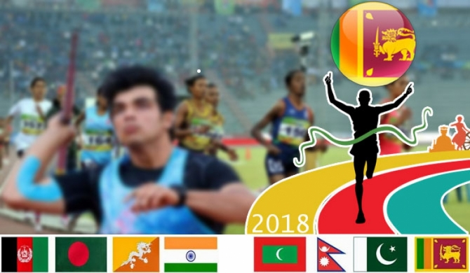 3rd S. Asian Junior Athletics C'ship in Colombo