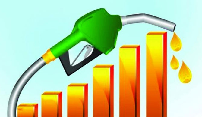 Fuel price hike from midnight today