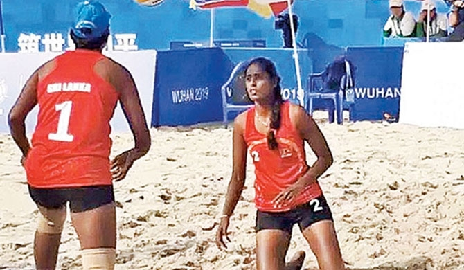 SL among top 10 womens' volleyball teams