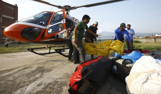 India climber body retrieved from Mt. Everest