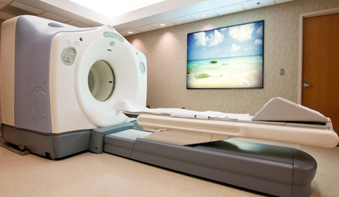Cabinet approval for PET scanner