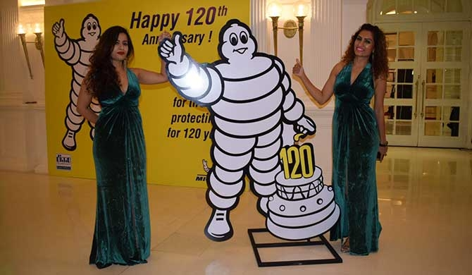 DIMO marks Michelin Man's 120th anniversary