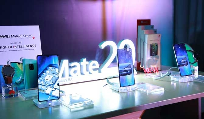 HUAWEI Mate 20 Series launched in Sri Lanka (Pics)