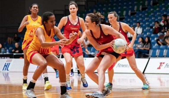 SL Netball team qualifies for the finals (video)