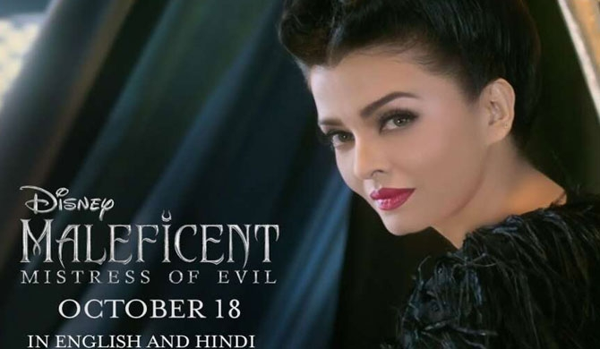 Aish transforms into Maleficent (Video)