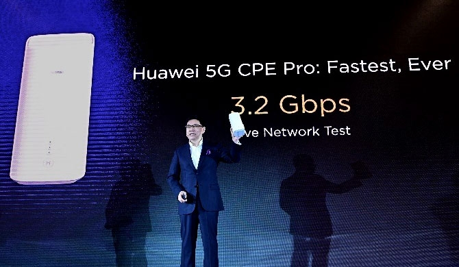 Huawei launches 5G Multi-mode Chipset & 5G CPE Pro