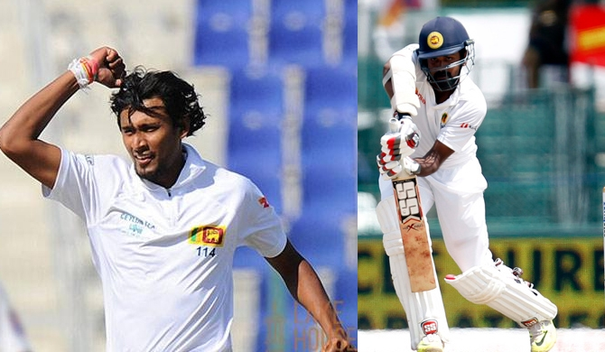 Calling for Lahiru : Suranga out