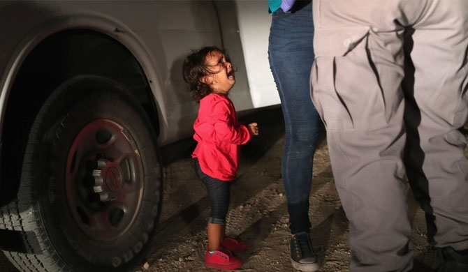 More than 11,000 migrant children are estimated to currently be in the custody of the US Department of Health and Human Services ( (Photo by John Moore/Getty Images) )