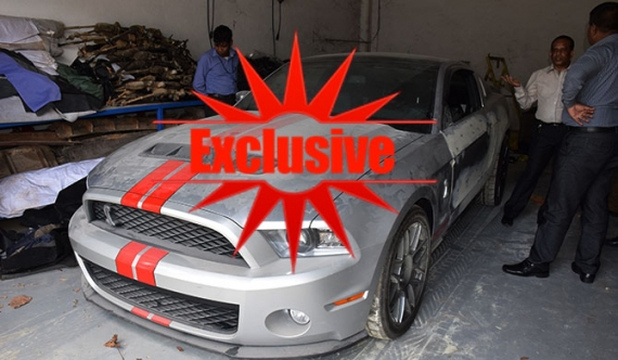 Namal's Ford Mustang car case tomorrow (pics)
